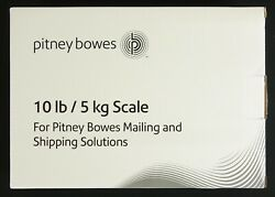 Brand New In Box Pitney Bowes 10lb Integrated Usb Shipping Scale For Home 397-b