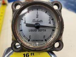 Rochester Vintage Military Mechanical Fuel Gauge Float Type