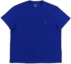 Polo Big And Tall Men's Big And Tall 26/1 Jersey Short Sleeve Classic F