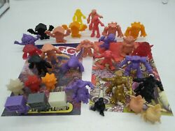 October Toys Omfg Deadbeet Pheyden And More Mini M.u.s.c.l.e. Style Figure Lrg Lot