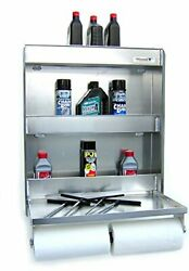 Pit Posse 445 Senior Storage Cabinet And Work Station Made Of Aluminum-flip Out