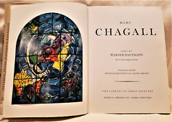 Marc Chagall 140 Reproductions With 49 In Large Full Color By Werner Haftmann