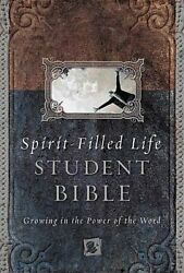 Spirit-filled Life Bible For Students Growing In Power Of By Jack W. Hayford
