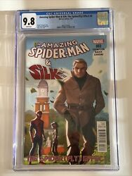 Cgc 9.8 3841272003 - The Amazing Spiderman And Silk 3 - The Spiderfly Effect