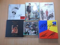 Shinee Old Promo With Autographed Signed