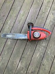Vintage Homelite Super 2 Chainsaw W/ 16 Bar And Chain Made In Usa