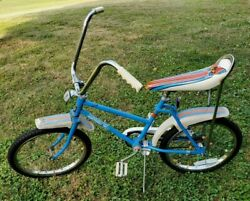 Vintage Murray High Flight Bicycle W/ Butterfly Banana Seat And Spoke Noise Makers
