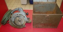 Vintage Porter Cable Circular Saw Model 508 Speedmatic Free Shipping