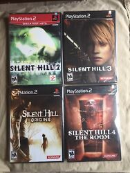 Silent Hill 2 3 4 Origins Brand New Factory Sealed Playstation 2 Ps2 Lot