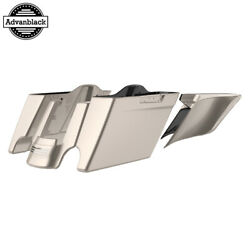 Silver Fortune Stretched Extend Saddlebags For 14+ Harley Flhr Flhxs Fltrx