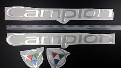 Campion Boats Emblem 20 Chrome + Free Fast Delivery Dhl Express - Raised Decal