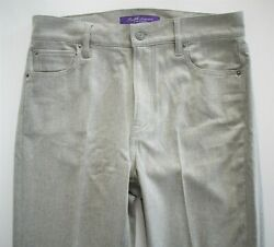 🆕️ 1290 Auth Collection Gray 100 Wool Bootcut Pants Trouser Us-8