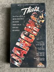 Vintage Brand New Thatand039s Dancing - Vhs1985 Rare Free Shipping