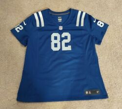 Authentic Nike On Field Indianapolis Colts Blue Jersey 82 Bolton Xxl Misprint