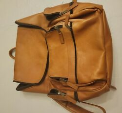 Leather Latico Laptop Backpack