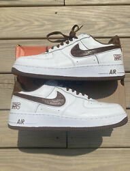 Nike Air Force 1 Nyc White Bison Andldquocrocandrdquo Size 12 Used 2004