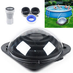 Black Outdoor Solar Dome Inground Andabove Ground Swimming Pool Water Heater Sale