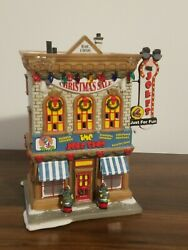 Dept 56 A Christmas Story The Joke Shop Store Lighted Village Building Retired