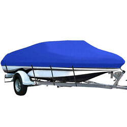 210d Waterproof V-hull Runabout Trailerable Boat Cover Sun Uv Dust Full Protect