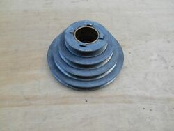 Atlas Craftsman 10 12 10-79 Lathe Headstock 4 Step Pulley And Bushing