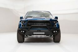 Fab Fours Half Ton Vengeance Pre Runner Front Bumper Fits 2017 Ford Raptor