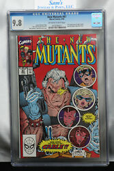 New Mutants 87 Cgc 9.8 1990 1st Cable Stryfe ==rob Liefeld And Todd Mcfarlane==