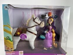 Disney Store Tangled The Series Doll Set Rapunzel And Maximus