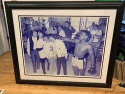 Signed Muhammad Ali + Beatles - Authentic Rare Collectible Sports - Framed Large