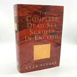 The Complete Dead Sea Scrolls In English Geza Vermes 1st Book Club Edition Hc 97