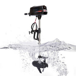 10hp 60v Electric Outboard Motor Fishing Boat Trolling Engine 2.2kw Power Engine