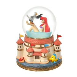 Disney Store Ariel And Scuttle Snow Globe The Little Mermaid Story From Japan