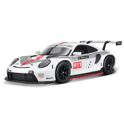 124 Porsche 911 Rsr Sports Car Diecast Model Vehicle Toy Collectible Racing Car