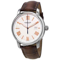 Star Legacy Automatic Ivory Dial Menand039s Watch 126104