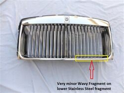 12-16 Rolls Royce Wraith Dawn Ghost Radiator Grille 51117301356 Remanufactured
