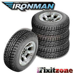 4 Ironman All Country A/t Lt285/75r16 10-ply All Terrain Any-weather Truck Tires