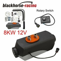 12v Air Diesel Heater 8kw 8000w Fit Motor-homes Boats Bus Car Truck