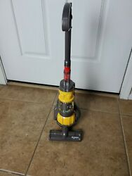 Dyson Yellow Ball Casdon Dc24 Kids Toy Vacuum Cleaner Clean And Works Great