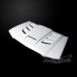 2003-2006 Chevrolet Avalanche Vip Style Functional Ram Air Hood W/o Bodyhardware