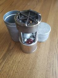 Vintage Coleman 530 B46 Stove  Military Camp Cook Gi With Funnel