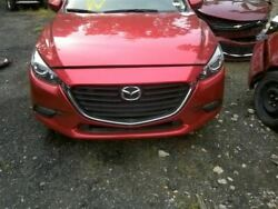 2018 Mazda 3 Front Clip Assembly