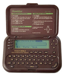 Franklin Holy Bible Electronic New International Version Niv-1440 Manual Tested