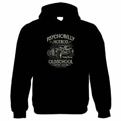 Psychobilly Hot Rod Classic Muscle Cars Funny Hoodie - Gift Him Her