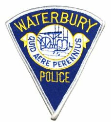 Waterbury Connecticut Ct Sheriff Police Patch City Seal Logo