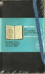 Matthew [from Holy Bible, King James Version] And Personal By Really New