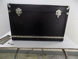 Vintage 1920 1930 Weisman Queen Quality Luggage Accessory Trunk Great Condition