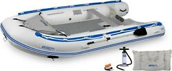 Sea Eagle 12.6 Sport Runabout Inflatable Boat W/dropstitch Or Plastic Floorboard