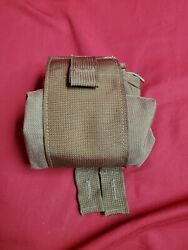 Molle Roll Up Dump Utility Pouch - Coyote Brown Operator Sanitized