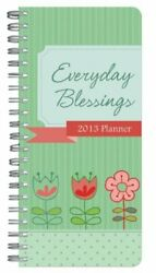 Everyday Blessings 2013 Planner By Compiled By Barbour Staff Brand New
