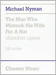 Man Who Mistook His Wife For A Hat By Michael Nyman Excellent Condition