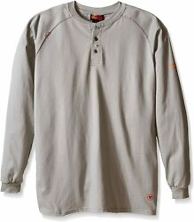 Ariat Men's Big And Tall Flame Resistant Work Henley Shirt